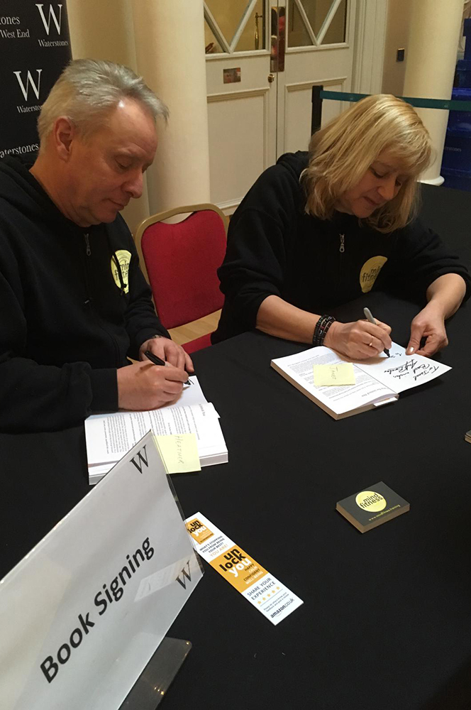 Mind Fitness Waterstones Book Signing