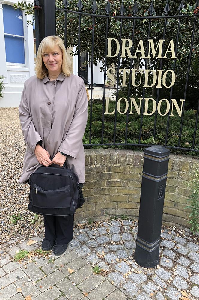 Outside Drama Studio London