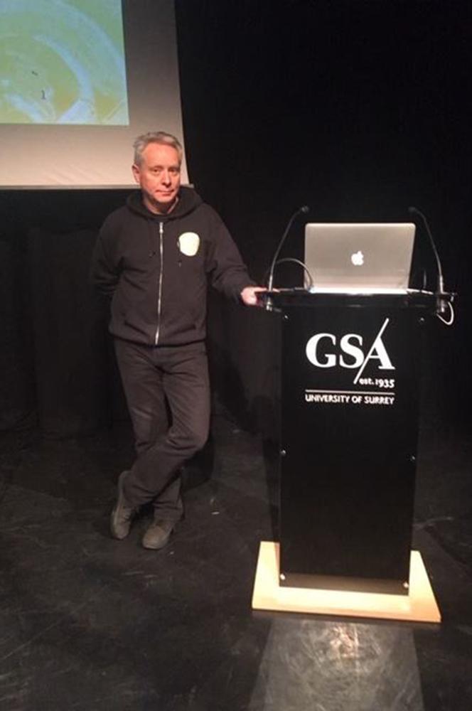 Mind Fitness University of Surrey talk