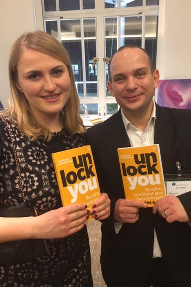 unlock you book launch