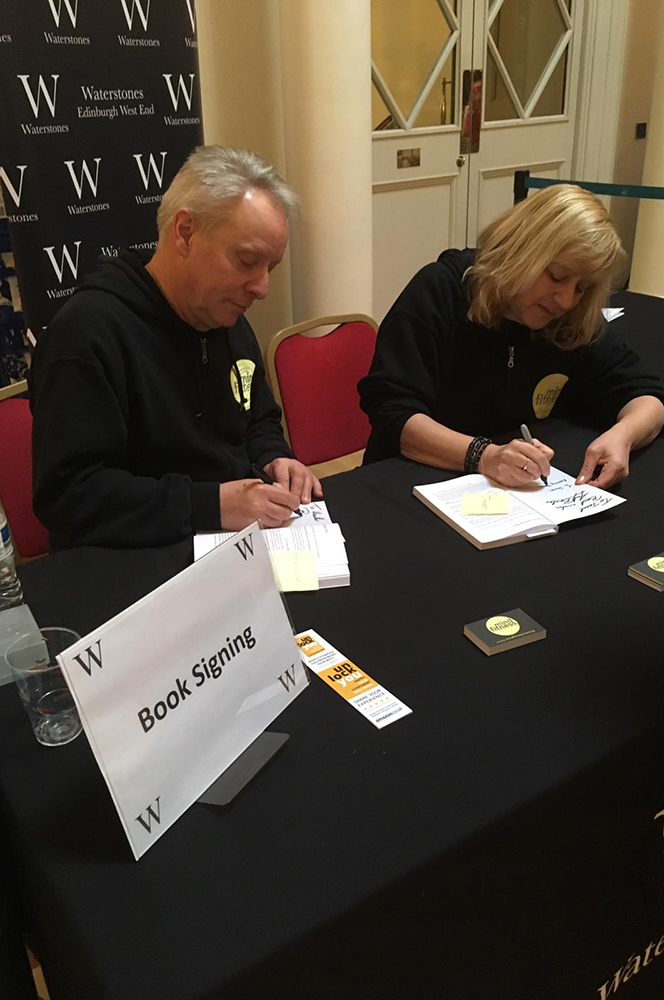 Waterstones unlock you Book Signing