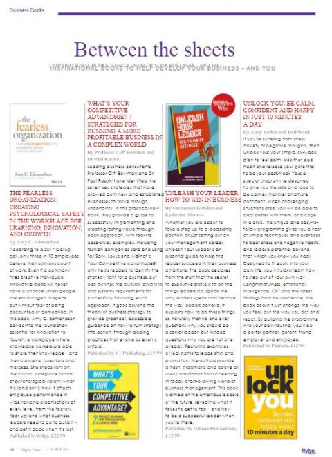 Flybe Magazine Article