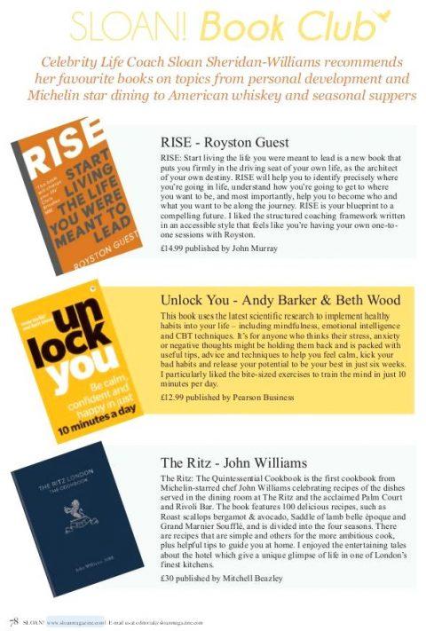 SLOAN Book Club article